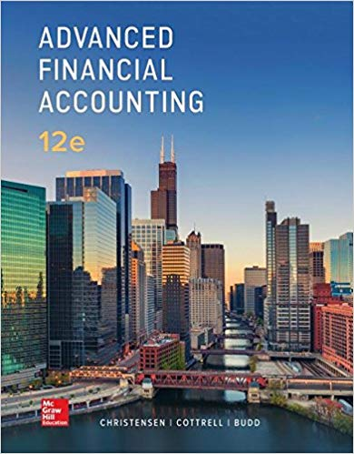 manual solution advanced financial accounting